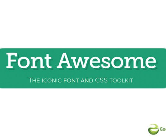 font awesome iconic font and css framework