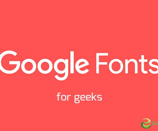 How to use Google Fonts - for geeks