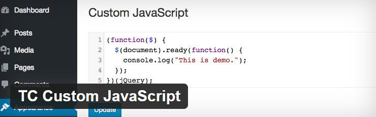 TC Custom JavaScript Plugin By Tiny Code