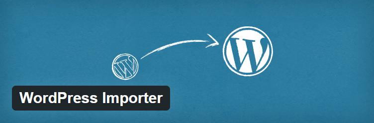 WordPress Importer Plugin By wordpressdotorg