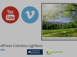 Vulnerable WordPress Plugin: WordPress Plugin Colorbox Lightbox v1.1.1