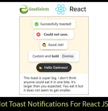 Hot Toast Notifications Component For React