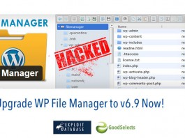 Vulnerable WordPress Plugin: WP File Manager v6.8