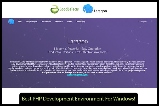 Best PHP Development Environment For Windows!