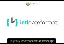 Easy way to format dates in JavaScript