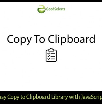 Easy Copy To Clipboard With JavaScript